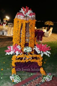 bridal palki, palki decor by our experts