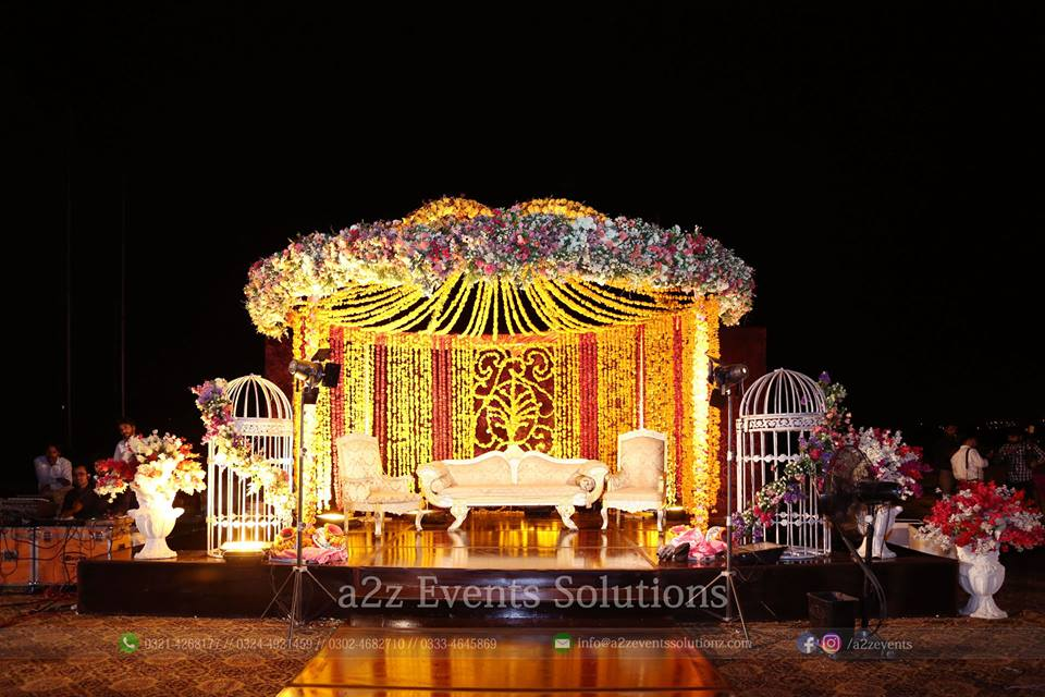 mehndi stage, mehndi stage decorators and designers