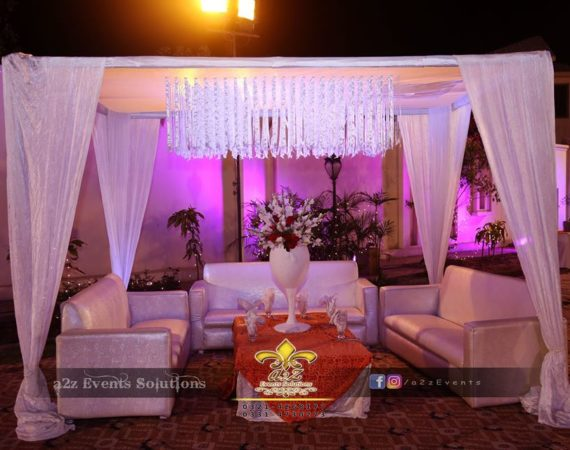 vip lounges and arabian gazebo