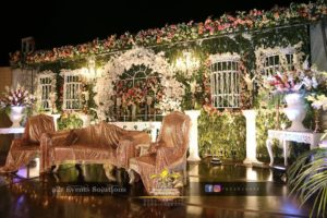 best wedding stages designers, stage decoration service providers
