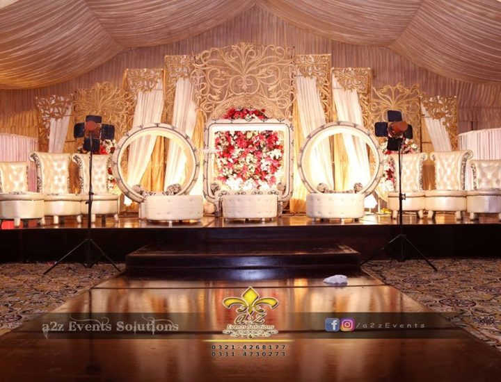 stage decorators, stages designers, grand barat stage