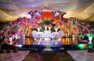 mehndi stage decorators, stage decor experts