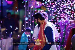 dulha entry, thematic entry, groom entry