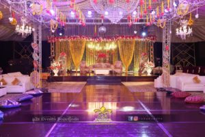 stages designers, royal stage, hanging garden, chandeliers