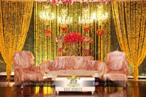 hanging chandeliers, center pieces, flowers decor, stages designers, mehndi stages