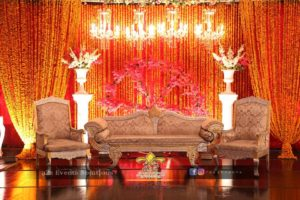 stage decoration, wedding stages designers, mehndi stage decorators