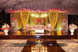 mehndi stage, royal stage, stages designers