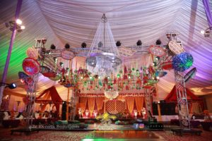 grand mehndi setup, stages decorators, wedding designers