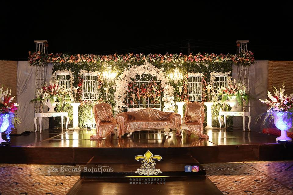 stage decor specialists, wedding stages