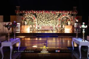 stages decorators, vip stage, wedding stages