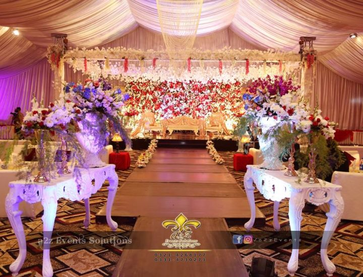 expert decorators, wedding decor, barat decor, walkway decor, console table decor, grand stage