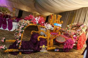 cinderella doli, bridal palki, bridal cart, bride entry, palki decor, doli decor, thematic entry