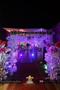 hanging garden, entrance decor