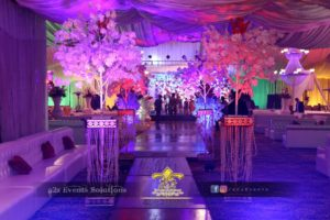 barat event, entrance decor, thematic entrance, thematic walkway decor