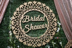bridal shower cutout, bridal shower planners and designers
