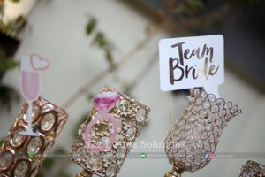 decor items, props for bridal showers