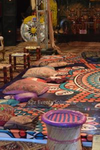 dance floor, desi decor, village theme, village touch