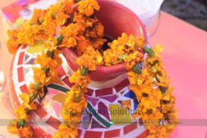 desi touch, fresh flowers decor