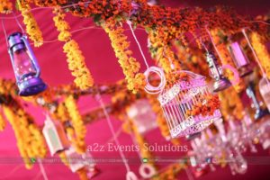 hanging garden, wedding designers, events management company