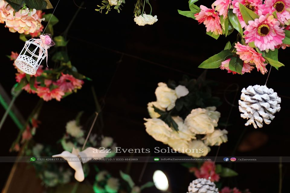Clouds Hanging Garden, New Theme For Walima Event by A2z Events