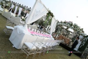 acrylic chairs service providers, head table decor