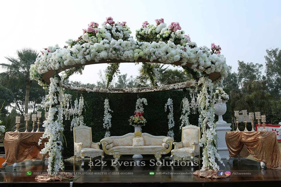 stages designers, imported flowers decor, wedding designers, decor experts