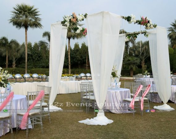outdoor event, western style, walima event, gazebo