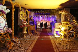 entrance decor, mehndi decor, area decor, hall decor