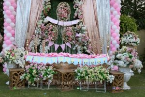 stages designers, birthday stage, thematic decor, outdoor birthday event