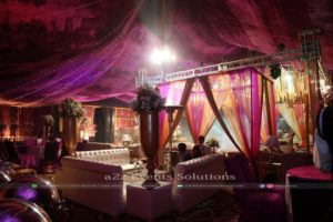 mehndi setup, best caterers in lahore