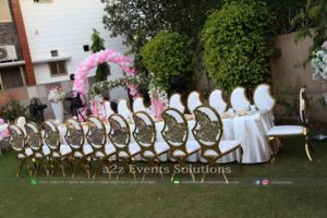 catering service providers in lahore, best caterers in lahore, vip chairs, outdoor setup