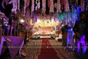 entrance decor, imported flowers, wedding designers, events management company
