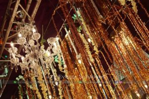 hanging garden, creative designers, hanging chandeliers, decor experts