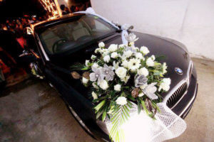imported and fresh flowers decor, wedding car designers and decorators