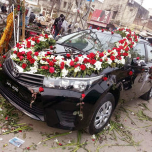 wedding car decor, car decor service providers