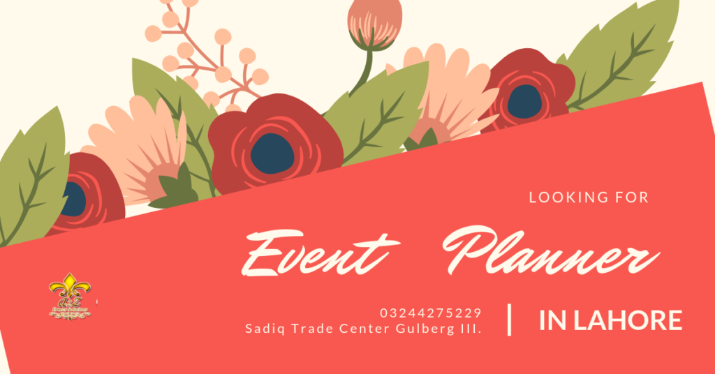 event planner, event planner in lahore