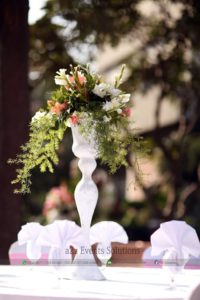centerpieces, fresh flowers decor
