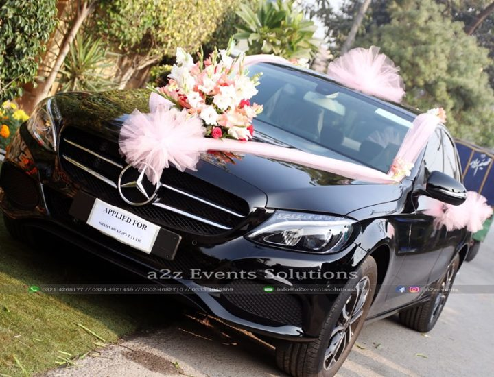 royal wedding car decor experts, wedding car decor