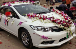 wedding car decorators, car decor service providers