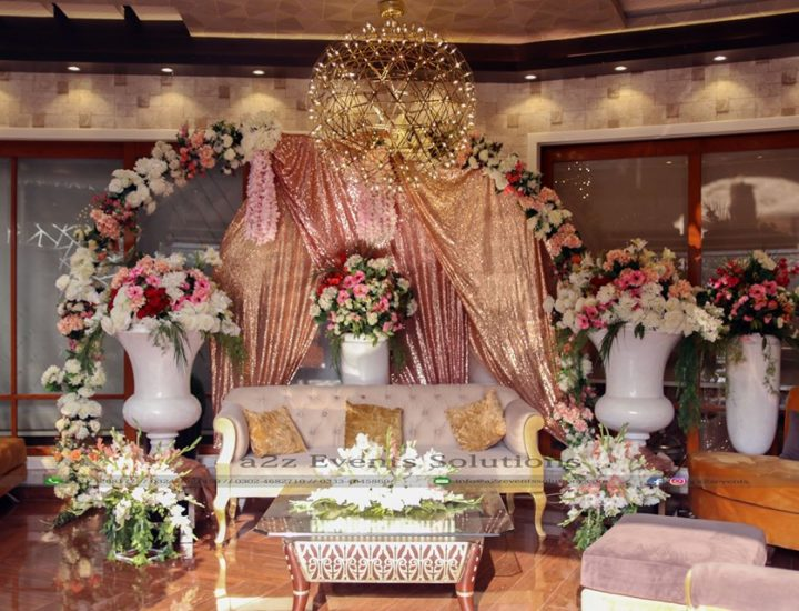 wedding decor, nikkah stage, stages designers, nikkah event