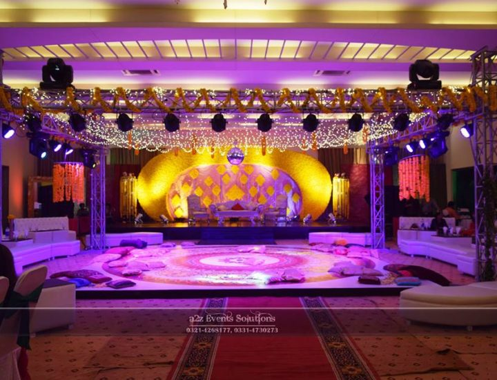 grand stage, vip stage, truss, dance floor