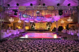 mehndi decor, vip setup, grand setup, royal decor