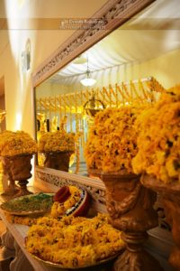 mehndi decor, fresh flowers decor, wedding designers, event planners