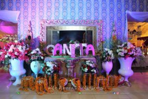 entrance decor, selfie booth, imported and fresh flowers decor, creative planners