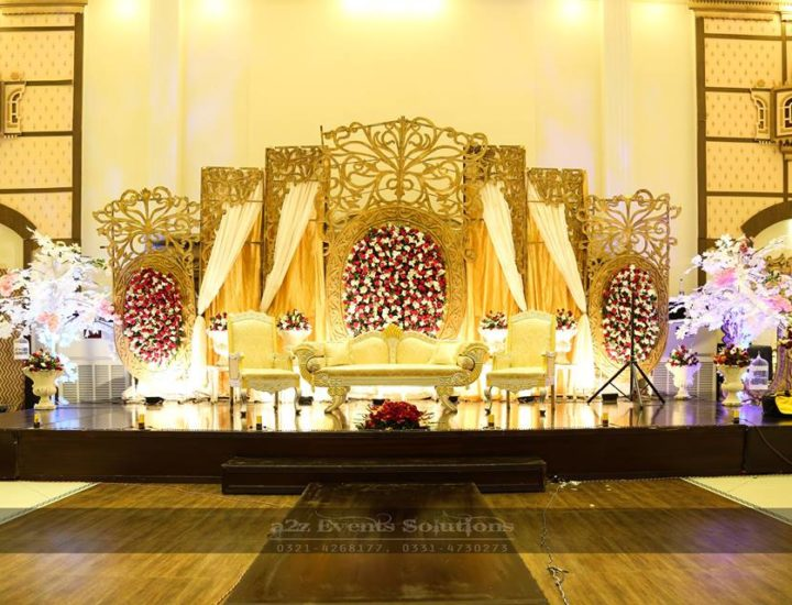 walima stage, grand stage