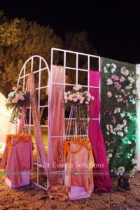 entrance decor, wedding designers in lahore