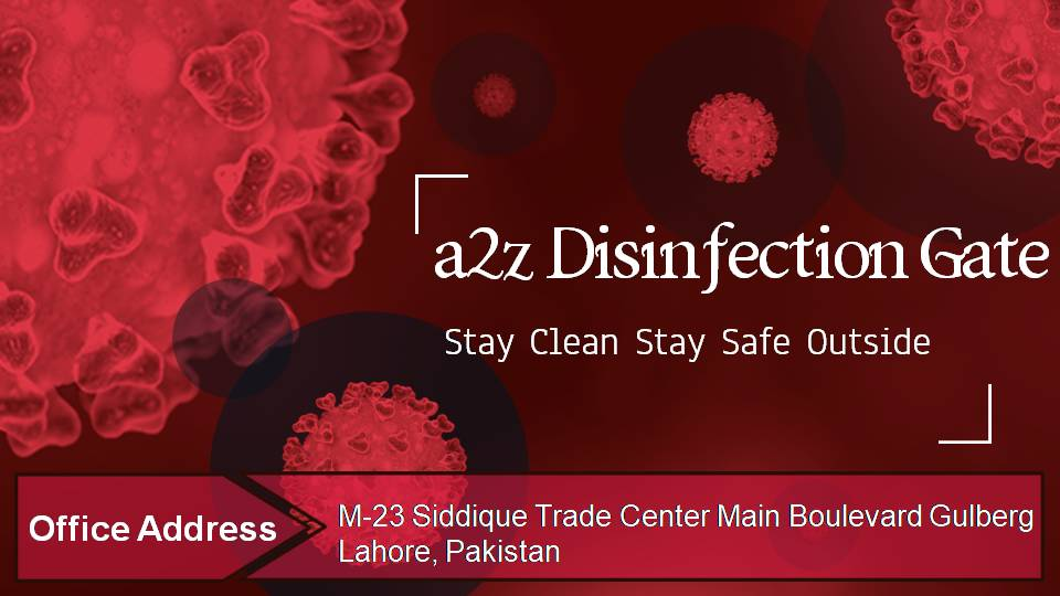 disinfectant gates service providers in lahore