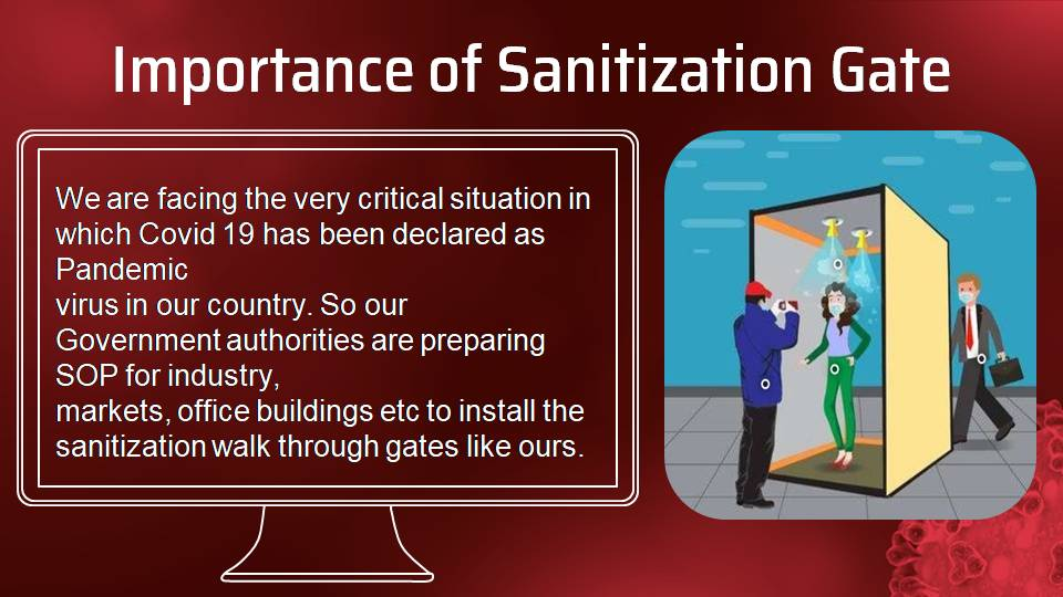 walk through sanitizing gate service providers in lahore