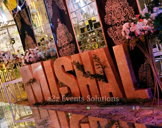 entrance decor, customized props