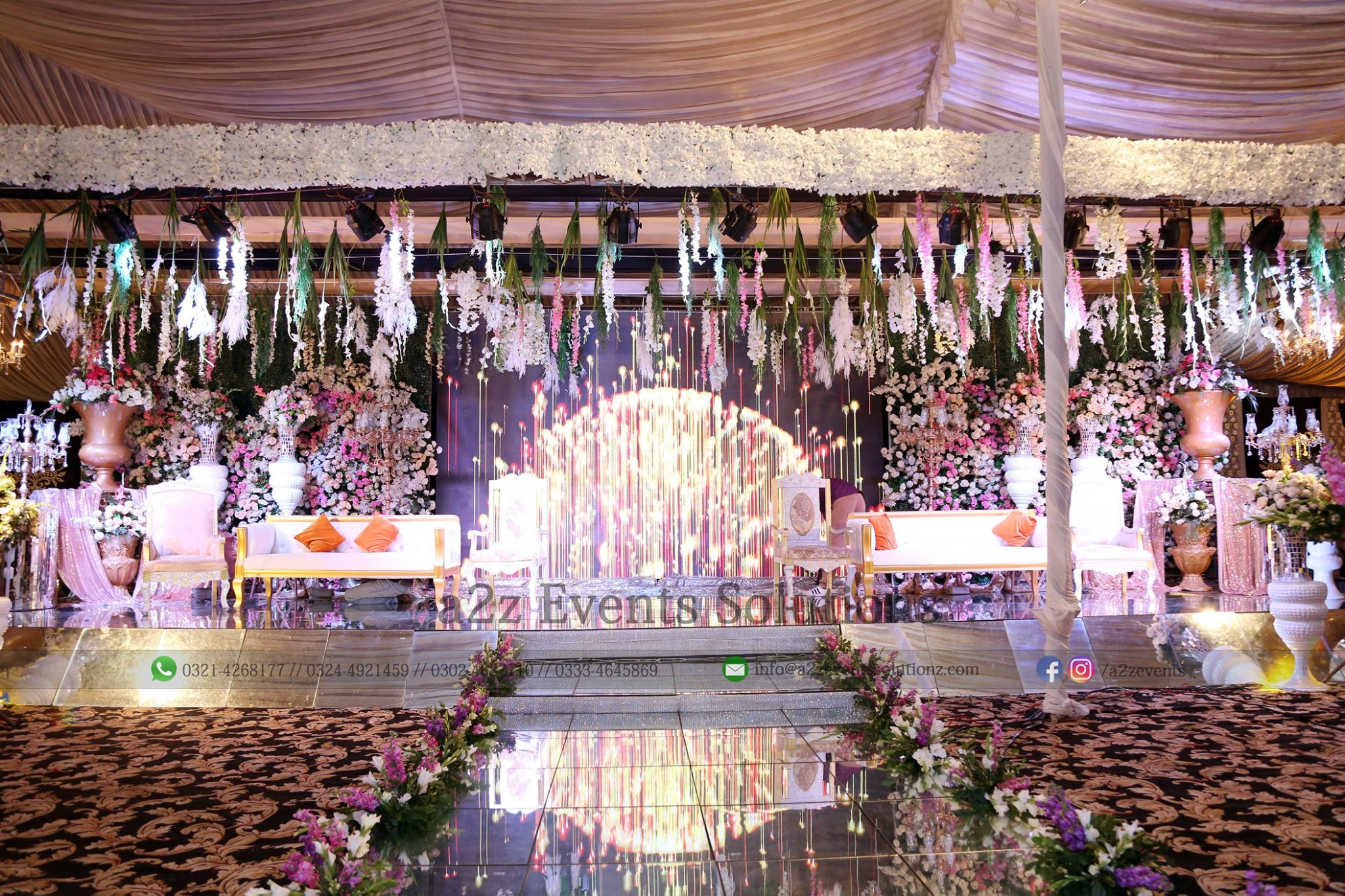grand stage, walima stage, vip stage, wedding stage